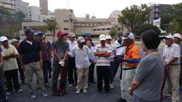 グラウンド・ゴルフ講習会の写真